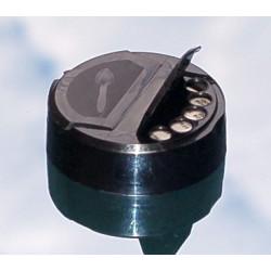 BOUCHON Flapper 63mm Noir  JT
