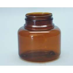 Pilulier US 150ml P43x16 PETG ambr
