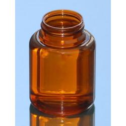 Pilulier US 200ml P43x16 PETG ambr