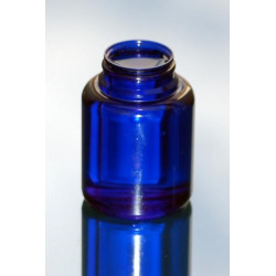 Pilulier US 200ml PETG Bleu