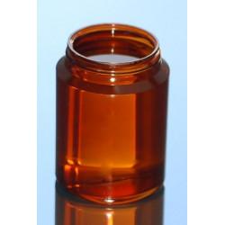 PILULIER CLASSIC 250ml PETG AMBRE P60x16