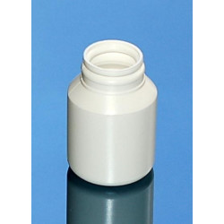 Pilulier CLS 050ml PEHD BLANC