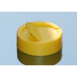 bouchon demi poudreur jaune à clipser