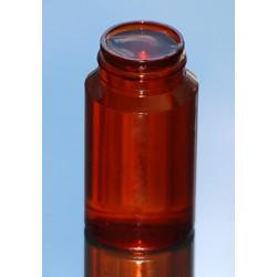 Pilulier CLASSIC 050ml PETG AMBRE P43x16