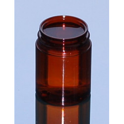 PILULIER 65ML  PET AMBRE P43 IS
